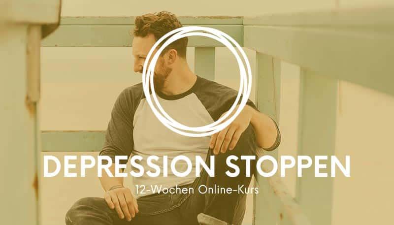 Depression stoppen - 12 Wochen Onlinekurs