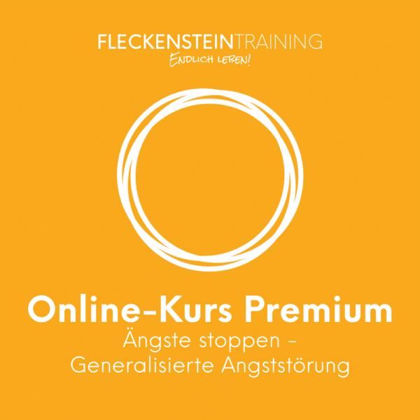 Ängste stoppen (Generalisierte Angststörung) Online-Kurs Premium