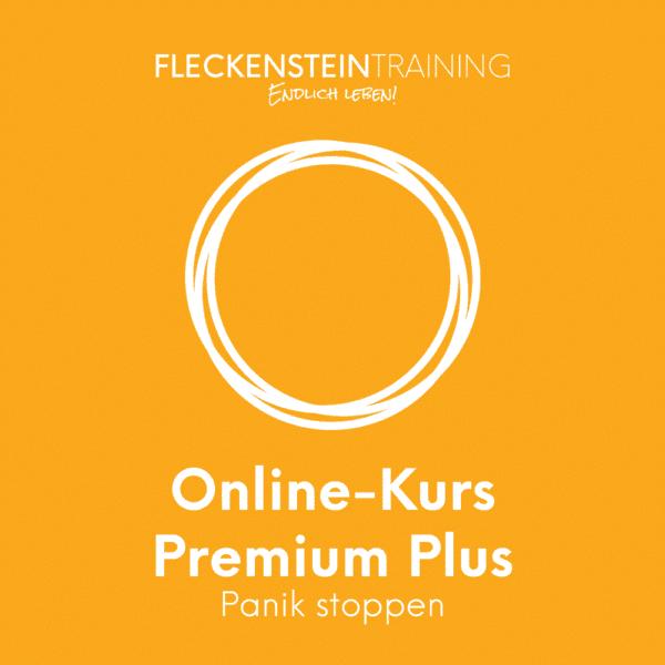 Panik stoppen Online-Kurs Premium Plus