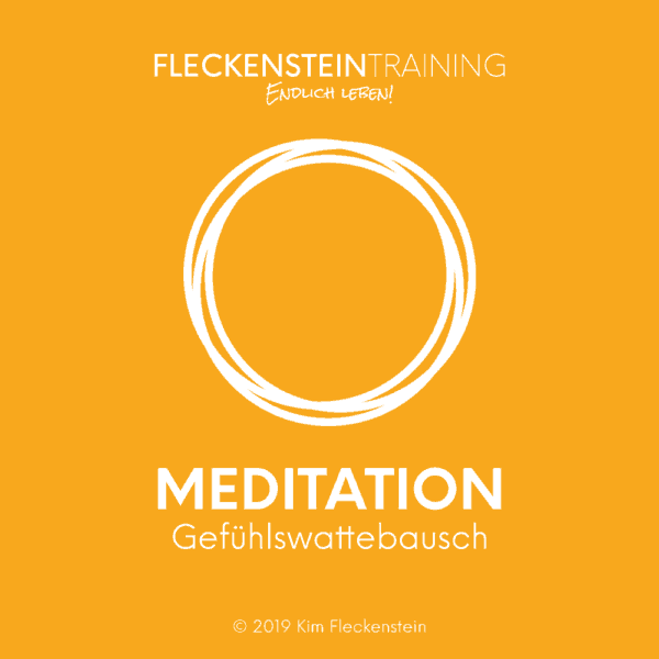 Meditation Gefühlswattebausch
